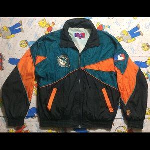 Vintage Rare Marlins Jacket 90s size Large